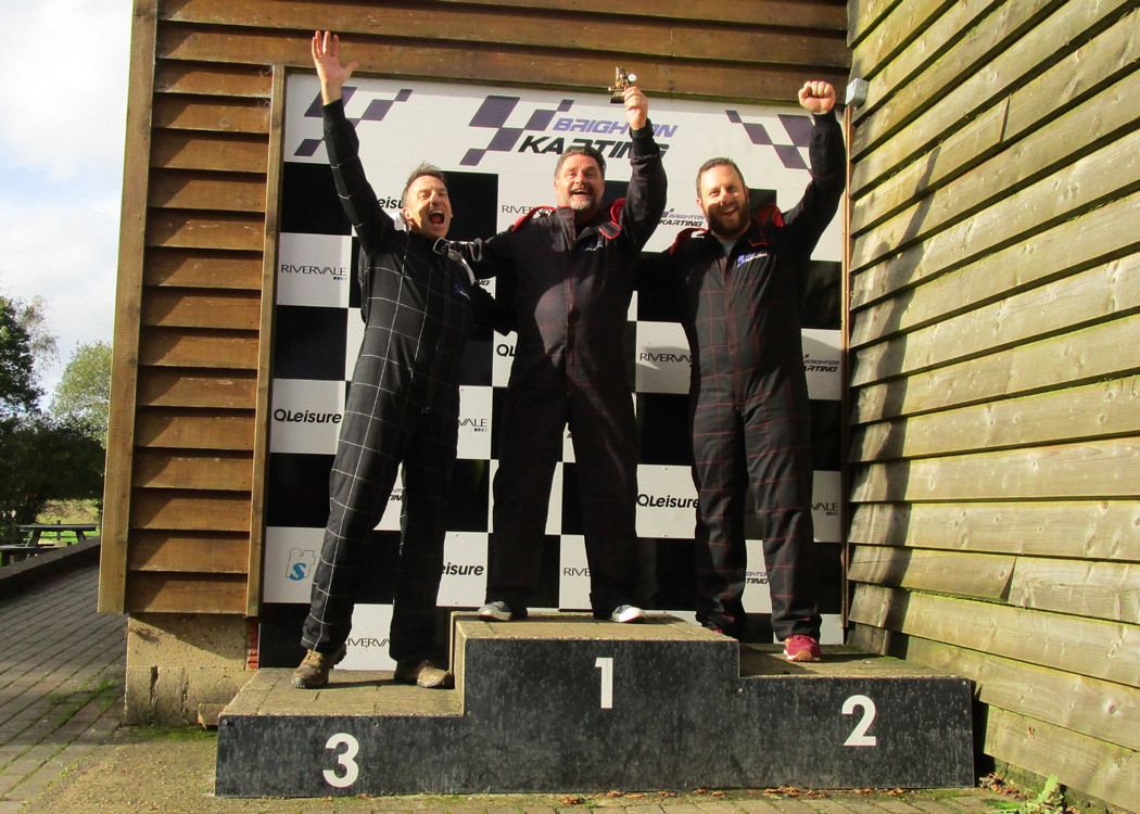 The CCWS London team win on the track