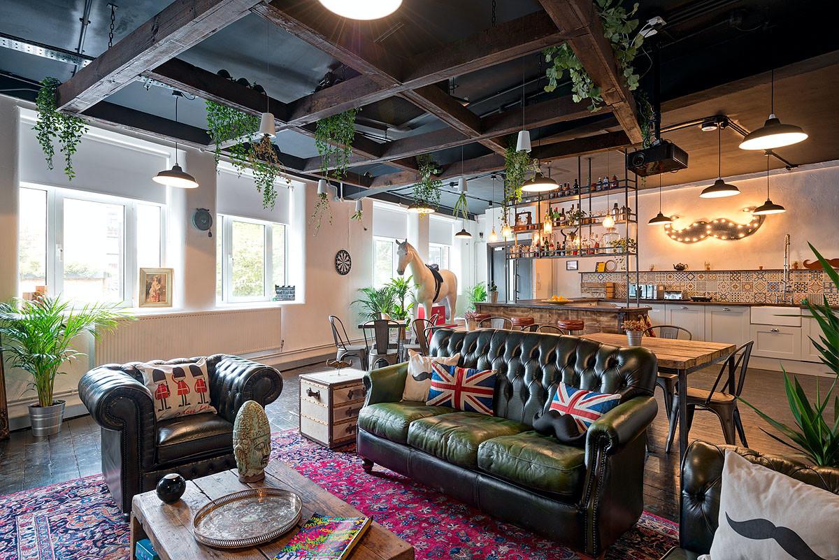 Movember Lounge & Bar Redesign