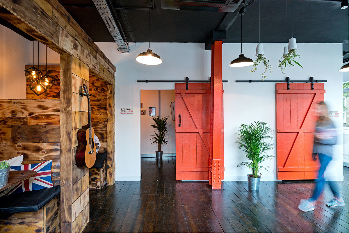 Movember Redesigned Entrance Hall
