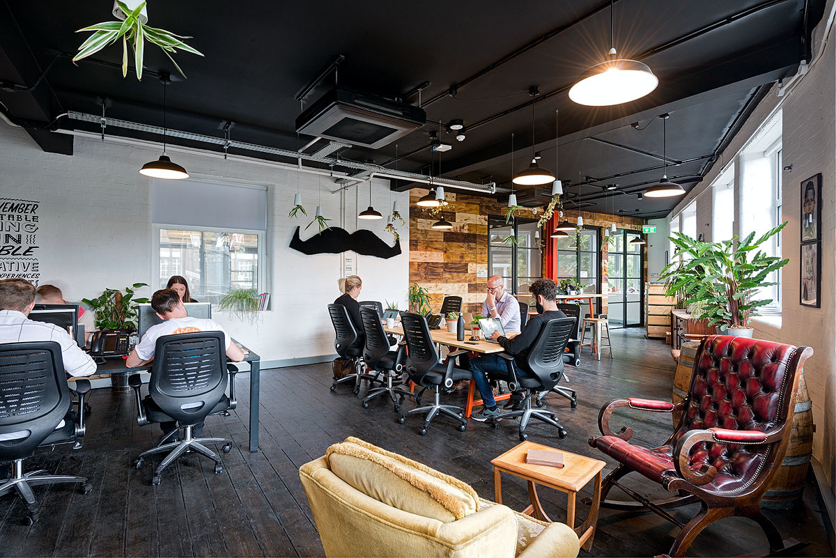 Movember office design by CCWS Interiors London