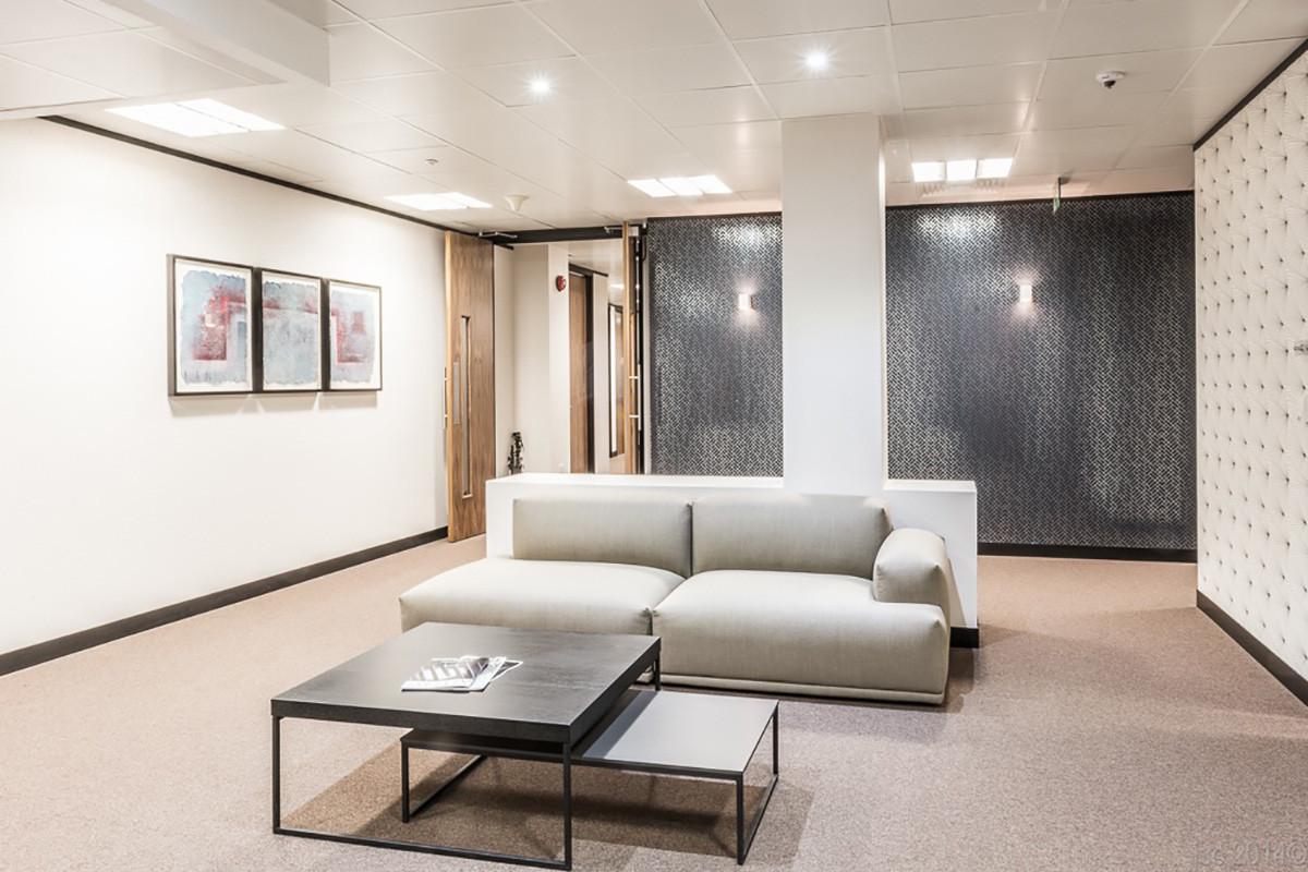 Birchin Court redesigned lobby