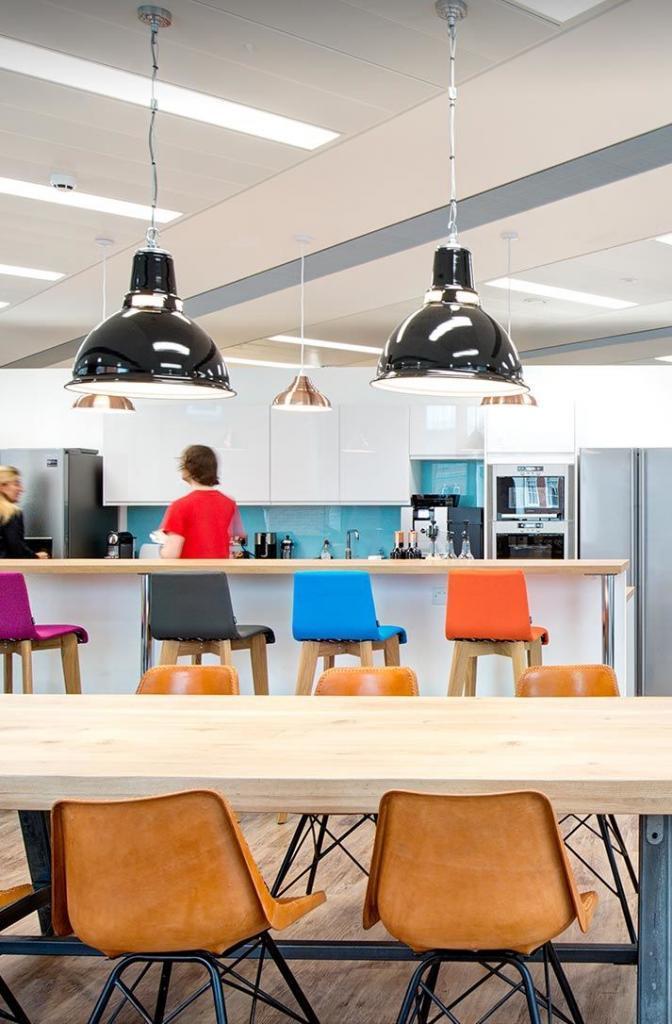 Office refurbishment by CCWS Interiors London