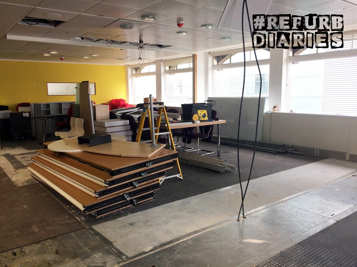 Office refurbishment diaries – CCWS office design case studies