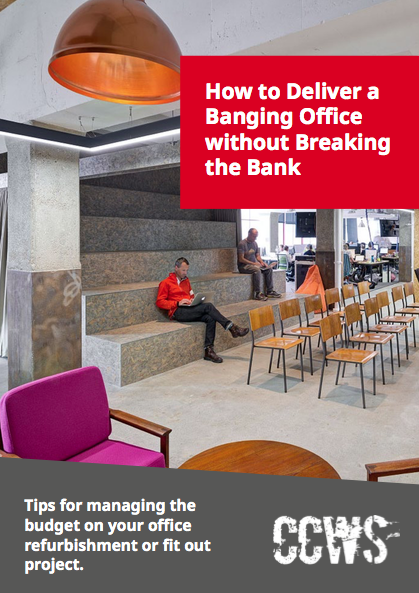 Free download guide - tips for managing office refurbishment budget