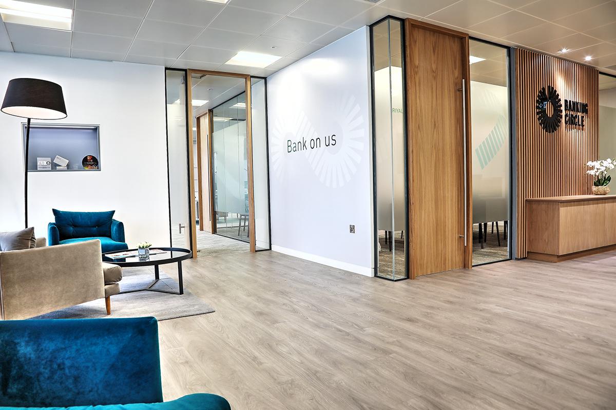 Banking Circle Office Refit London